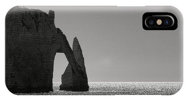 Normandy iPhone Case - Etretat by Olivier Le Queinec
