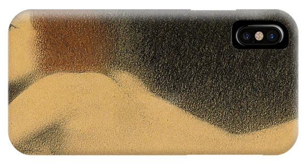 Pastel Pencil iPhone Case - Etude De Nu by Fernand Khnopff
