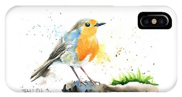 European Robin IPhone Case