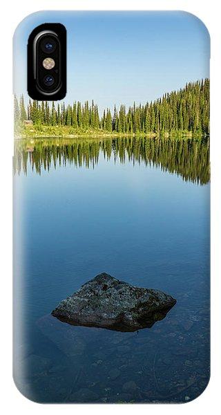 Eva Lake Mirror IPhone Case