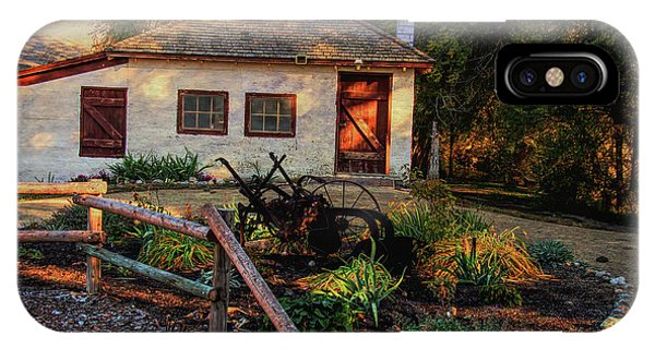 Wheeler Farm iPhone Case - Evening At The Farm by Nick Gray