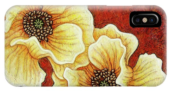 IPhone Case featuring the painting Evening Embers by Amy E Fraser