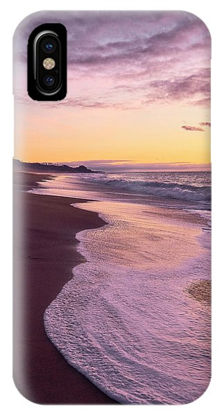 IPhone Case featuring the photograph Evening On Gleneden Beach by Whitney Goodey