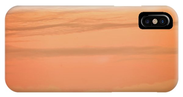 IPhone Case featuring the photograph Evening Sky by Leland D Howard
