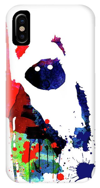 Film iPhone Case - Ewok Cartoon Watercolor by Naxart Studio