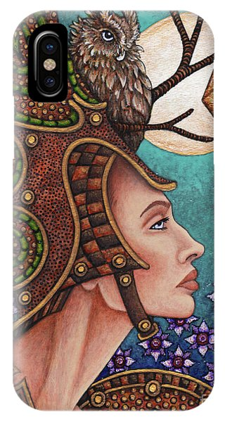 Exalted Beauty Athena IPhone Case