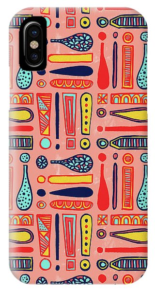 Exclamations Pattern IPhone Case