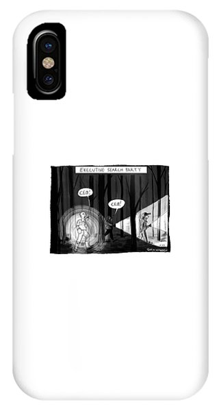 Executive Search Party IPhone Case