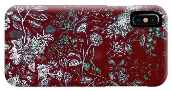 Garden Wall iPhone Case - Exotic Harmony by Jorgo Photography - Wall Art Gallery