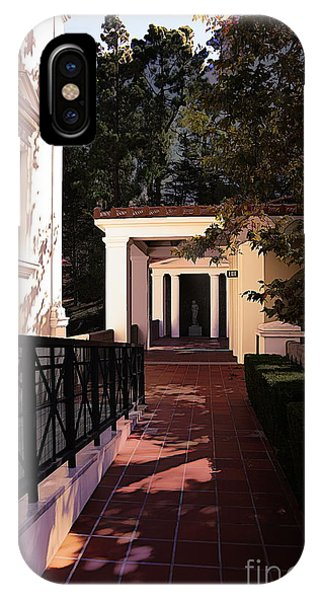 J Paul Getty iPhone Case - Exterior Amazing Getty Villa  by Chuck Kuhn
