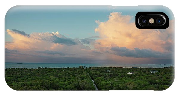 IPhone Case featuring the photograph Exuma Skies by Thomas Kallmeyer