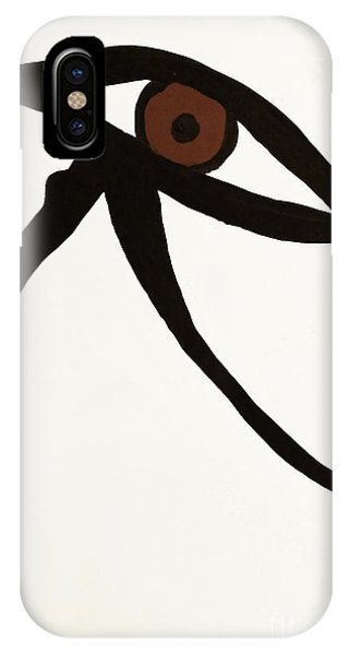 IPhone Case featuring the photograph Eye Of Egypt by Sue Harper