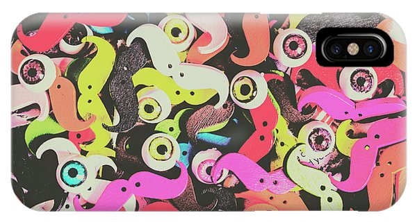 Moustache iPhone Case - Eyes And Moes by Jorgo Photography - Wall Art Gallery