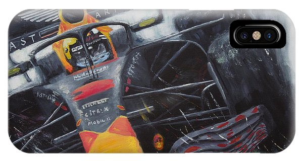 F1 Action IPhone Case
