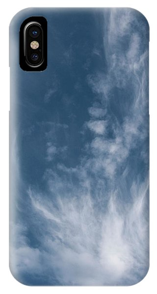 Face In Cloud IPhone Case