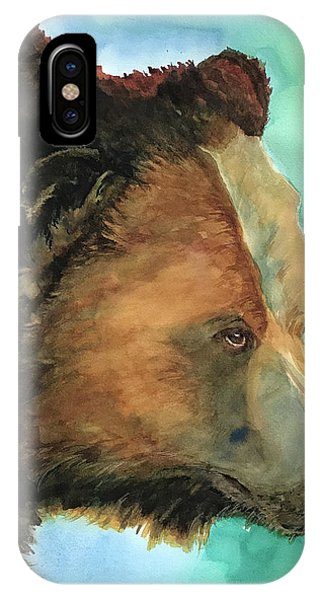Face To Face Bear IPhone Case