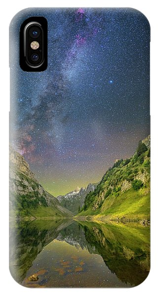 Faelensee Nights IPhone Case