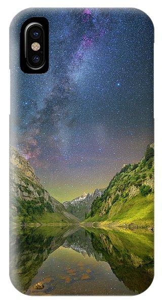 Faelensee Nights IPhone Case