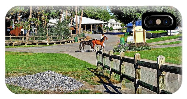 iPhone Case - Fairgrounds In Rhinebeck New York by Zal Latzkovich