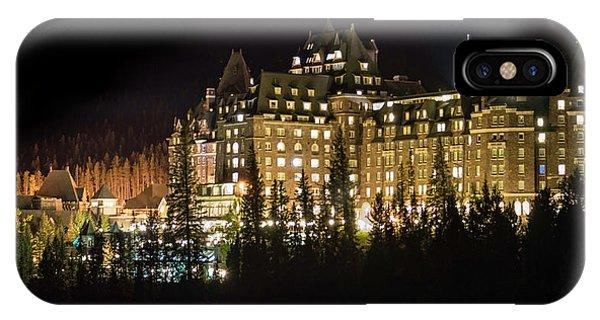 Fairmont Banff Springs Hotel IPhone Case