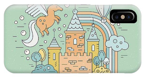 Fairytale Illustration With Open Book Phone Case by Olga Zakharova