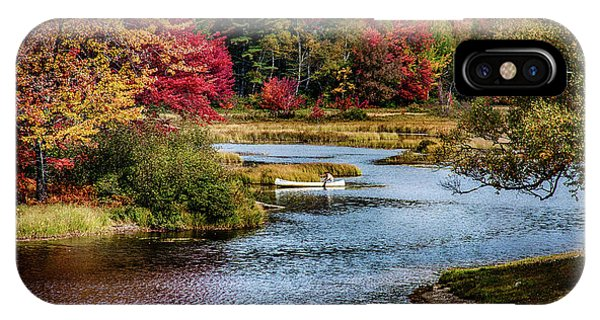 Fall Colors In Baxter State Park IPhone Case