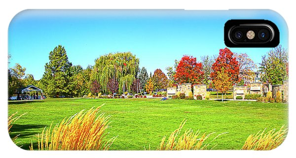 IPhone Case featuring the photograph Fall Colors In Boise, Idaho by Dart and Suze Humeston