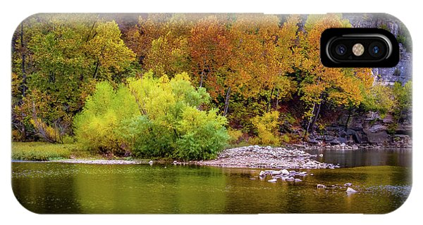 IPhone Case featuring the photograph Fall Colors Of The Ozarks by Allin Sorenson