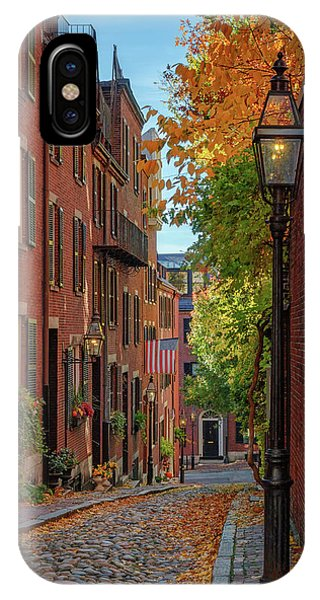 Fall In Beacon Hill IPhone Case