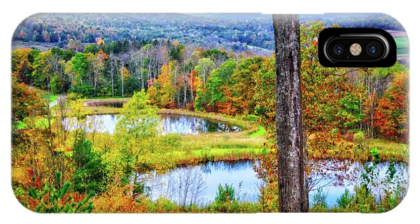 IPhone Case featuring the photograph Fall Memories At The Ponds by Lynn Bauer