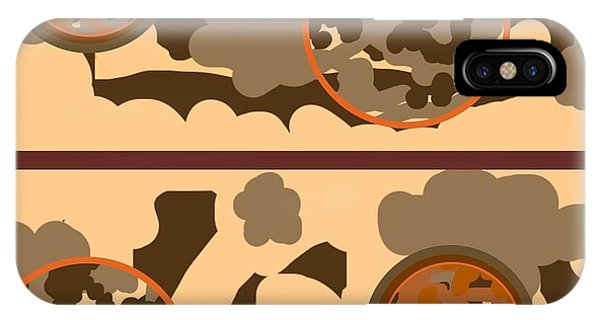 The Art Of Gandy iPhone Case - Falling Into Fall G102 by Joan Ellen Kimbrough Gandy of The Art Of Gandy