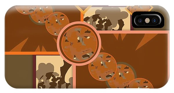 The Art Of Gandy iPhone Case - Falling Into Fall G106 by Joan Ellen Kimbrough Gandy of The Art Of Gandy