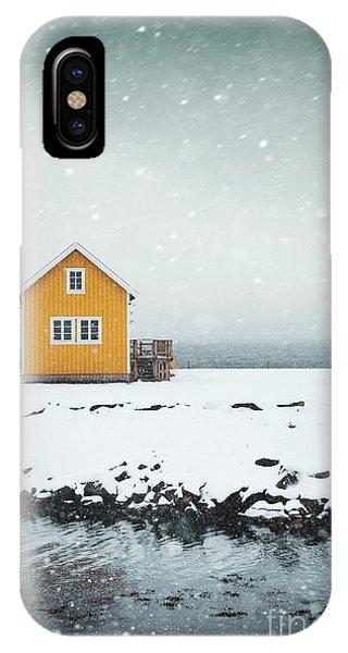 Desolation iPhone Case - Falling Softly by Evelina Kremsdorf