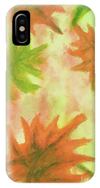 Fanciful Fall Leaves IPhone Case