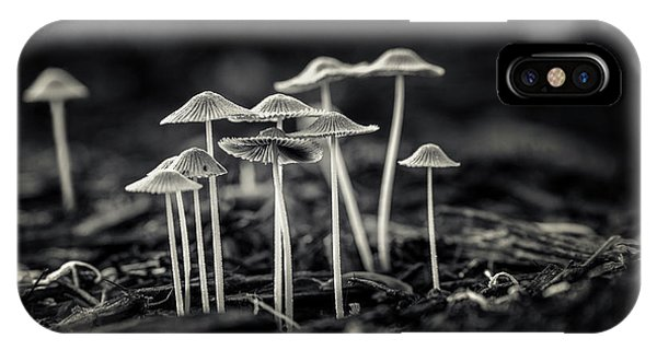 Growth iPhone Case - Fanciful Fungus-2 by Tom Mc Nemar
