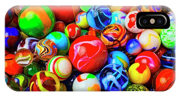 Novelty iPhone Case - Fantastic Childhood Marbles by Garry Gay