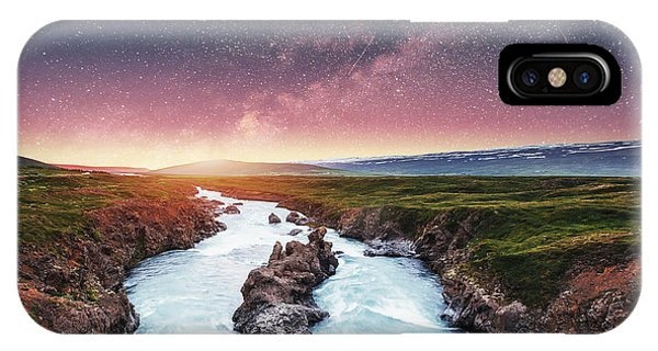Astro iPhone Case - Fantastic Views Of The Landscape by Standret