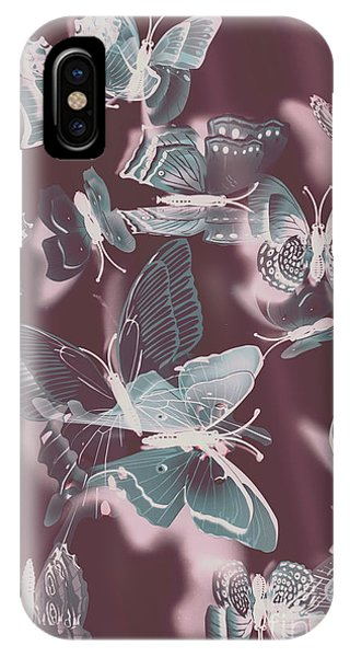 Romantic Background iPhone Case - Fantasy Flutters by Jorgo Photography - Wall Art Gallery