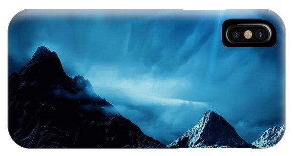 Space iPhone Case - Fantasy Landscape by Isoga