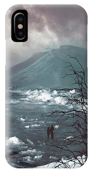 Freeze iPhone Case - Far Away From Home by Cambion Art
