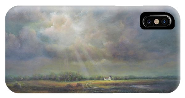 Farm In Spring IPhone Case