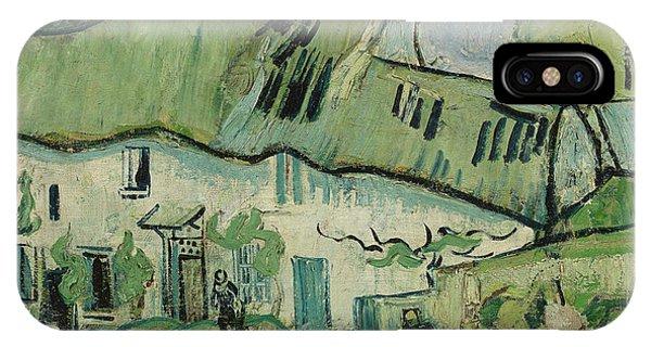 Van Gogh Museum iPhone Case - Farmhouse by Vincent van Gogh