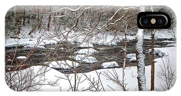 Farmington River - Northern Section IPhone Case