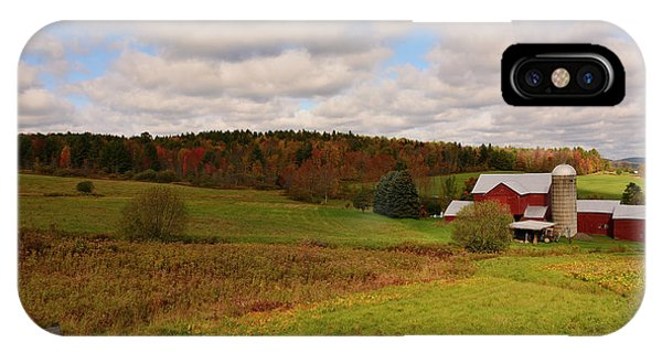 IPhone Case featuring the photograph Farmland In Autumn by Angie Tirado