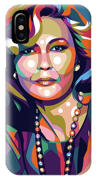 Faye Dunaway IPhone Case