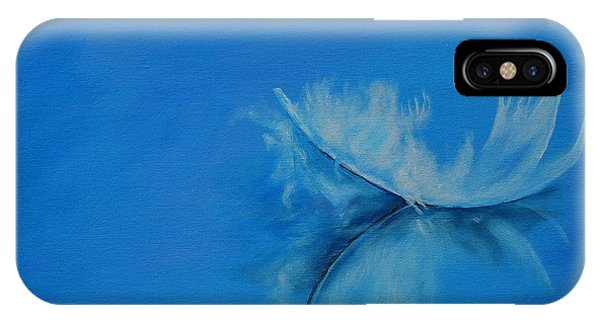 Feather Floating - Stillness IPhone Case