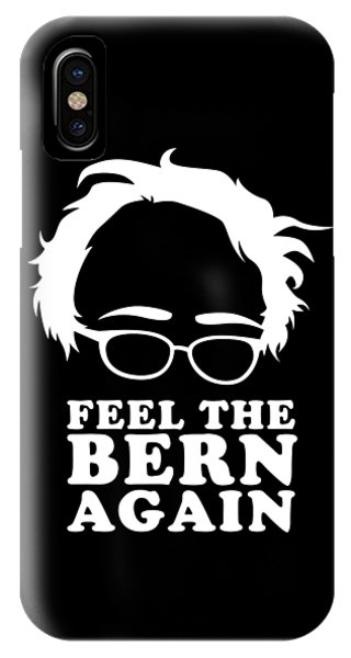 Feel The Bern Again Bernie Sanders 2020 IPhone Case