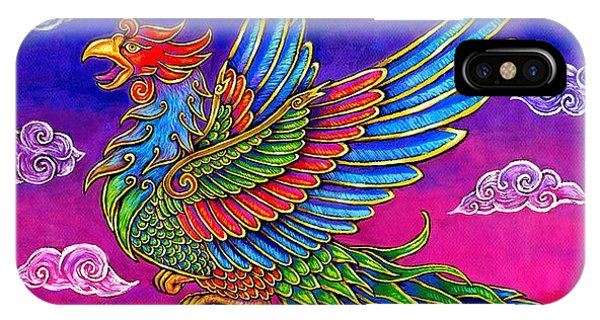 Fenghuang Chinese Phoenix IPhone Case