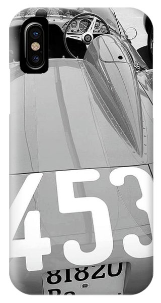 Monterey iPhone Case - Ferrari Rear End by Naxart Studio