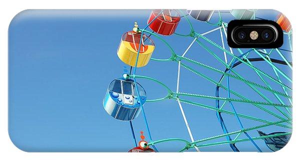 Fair iPhone Case - Ferris In Spring Park by Alexander A. Kataytsev